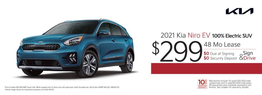 New 2021 Kia Niro EV