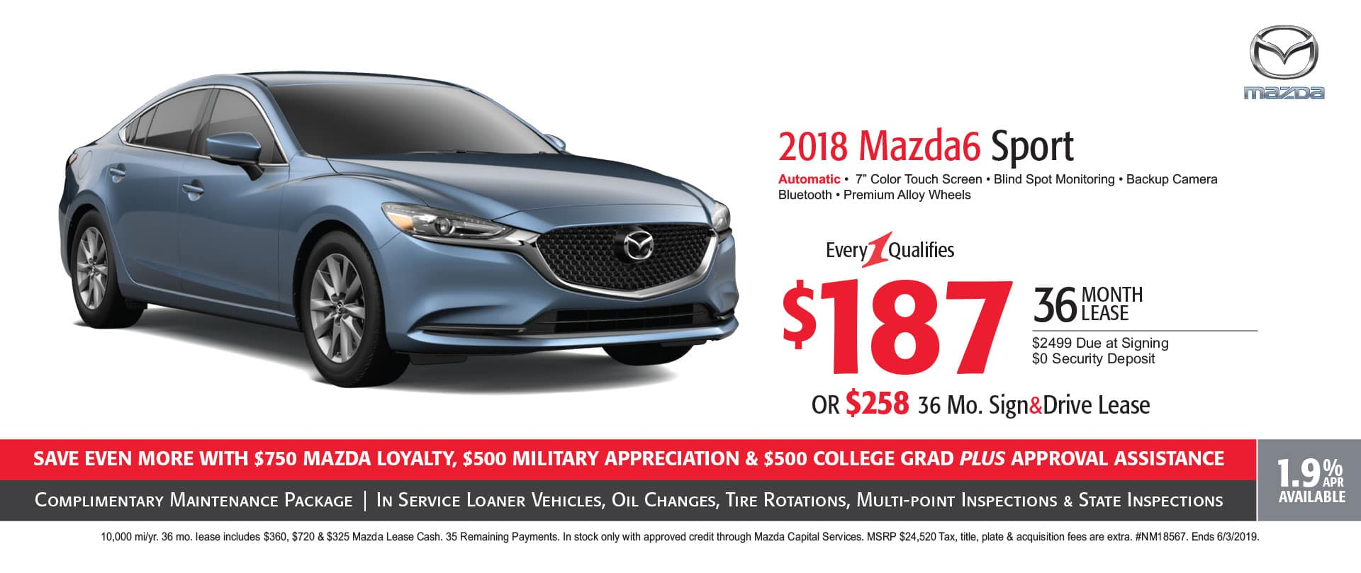 Mazda Lease Finance Offers Pittsburgh New Car Deals Moon
