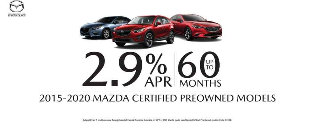 Mazda Certified Special