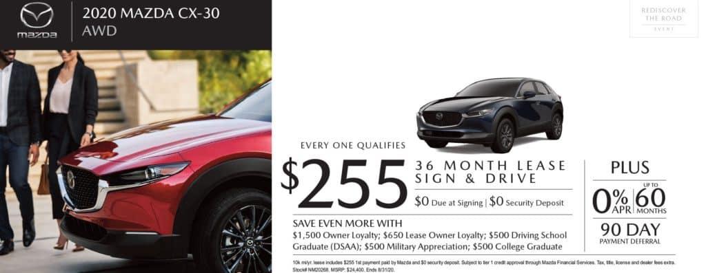 New 2020 Mazda CX-30 Base AWD