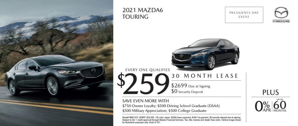 New 2021 Mazda 6 Touring