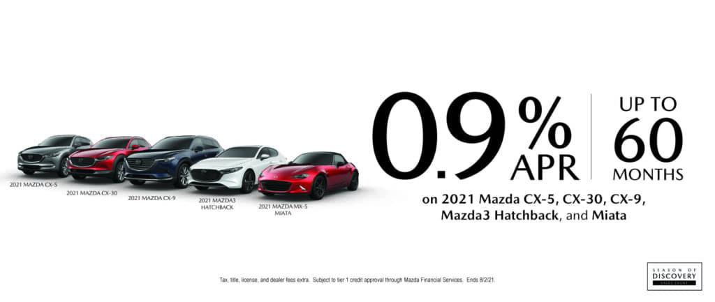 Mazda 60 Month Financing