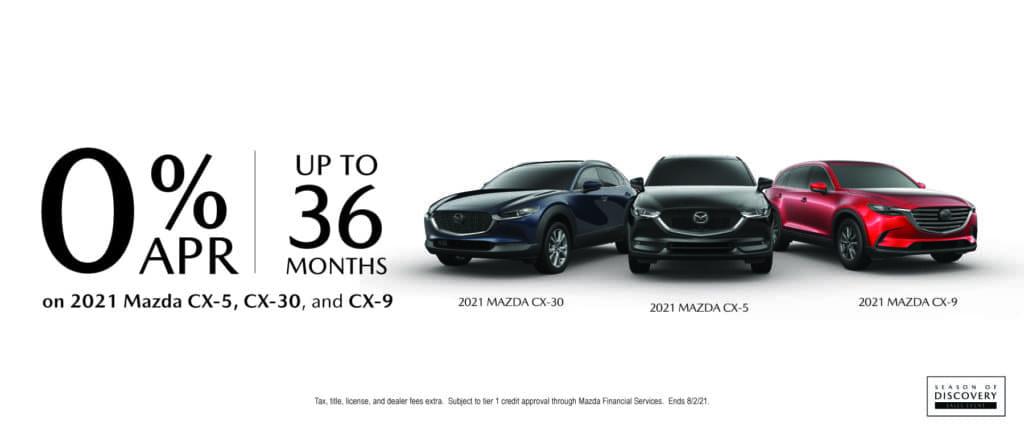 Mazda 36 Month Financing