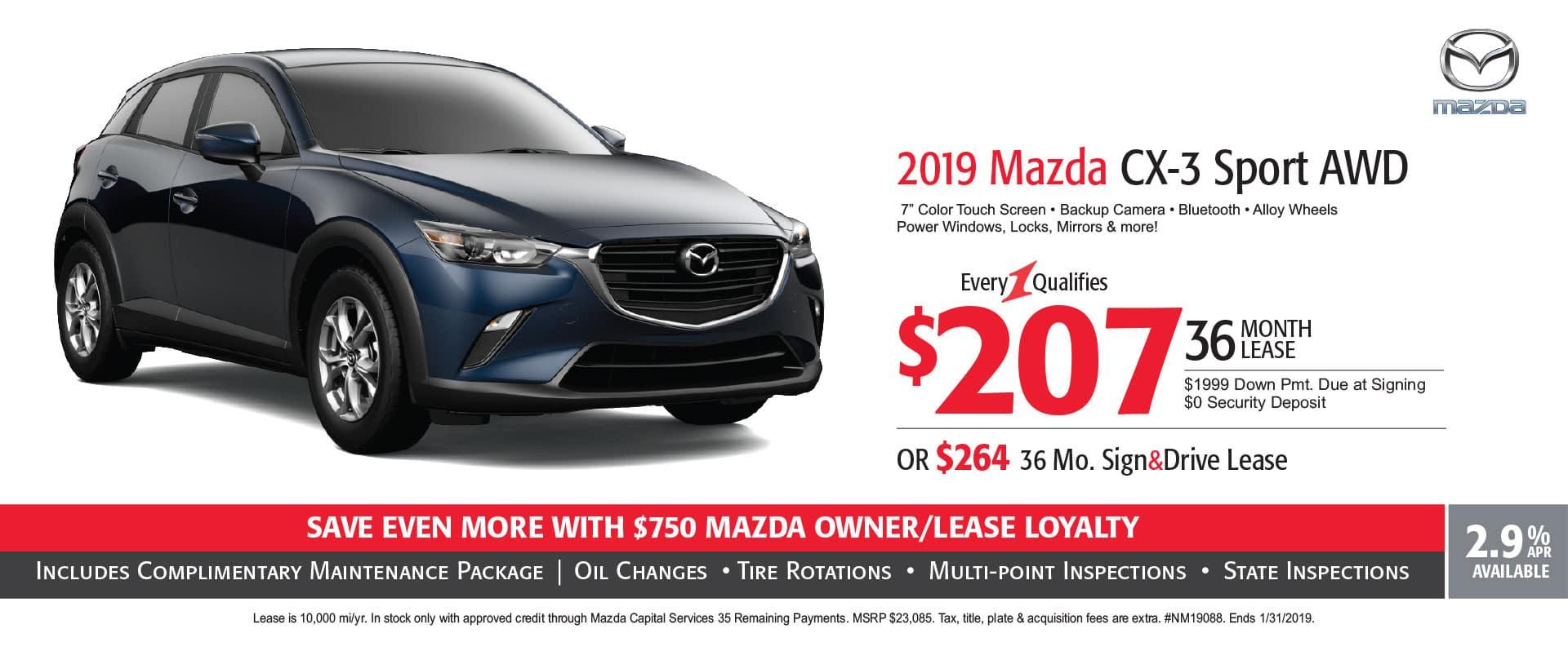 2019 Mazda