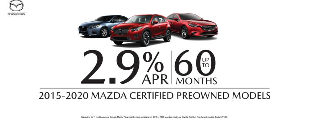 July Certified Pre-Owned Special