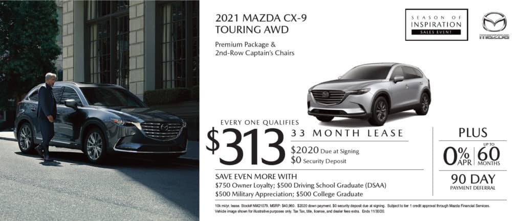 Nov 2021 Mazda CX-9