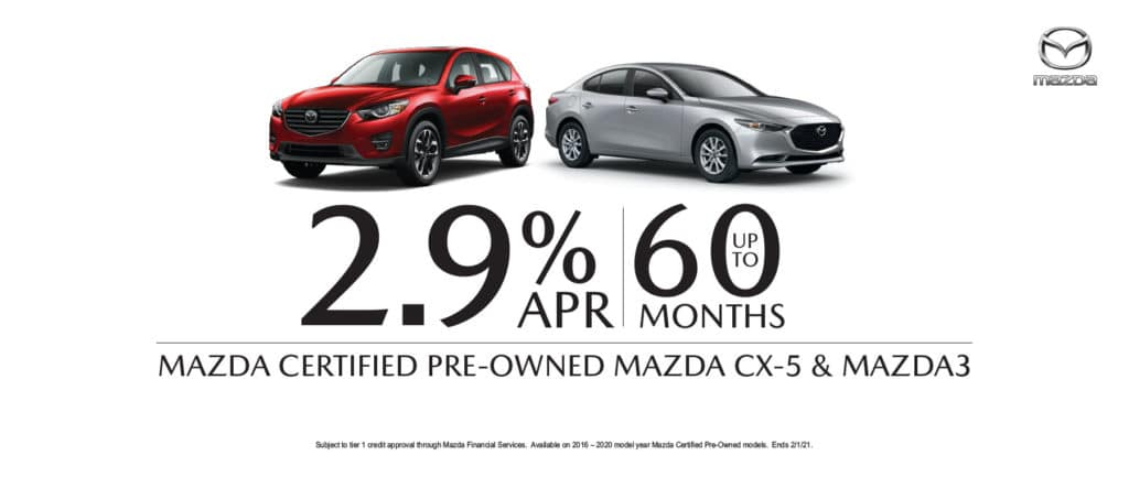 Mazda Preowned Finance Offer