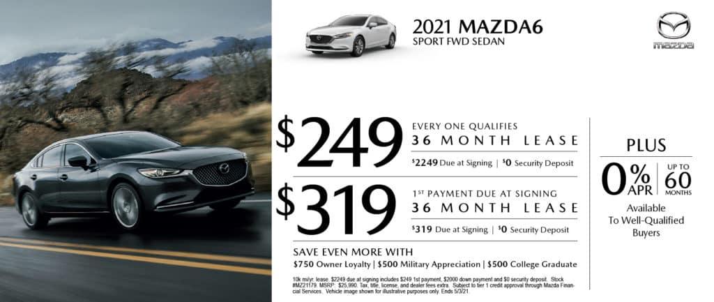 New 2021 Mazda Mazda6