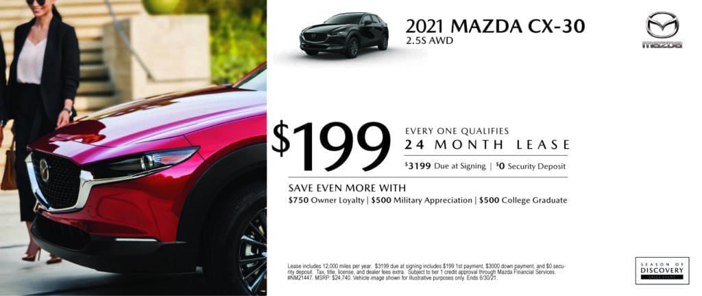 New 2021 Mazda CX-30
