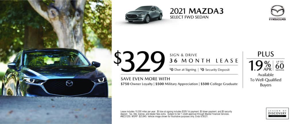 New 2021 Mazda Mazda3