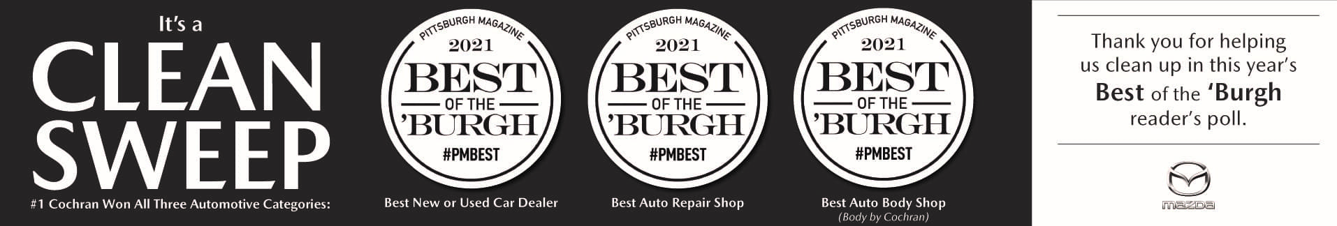 May 2021 Best of the Burgh – Homepage Banners_Mazda