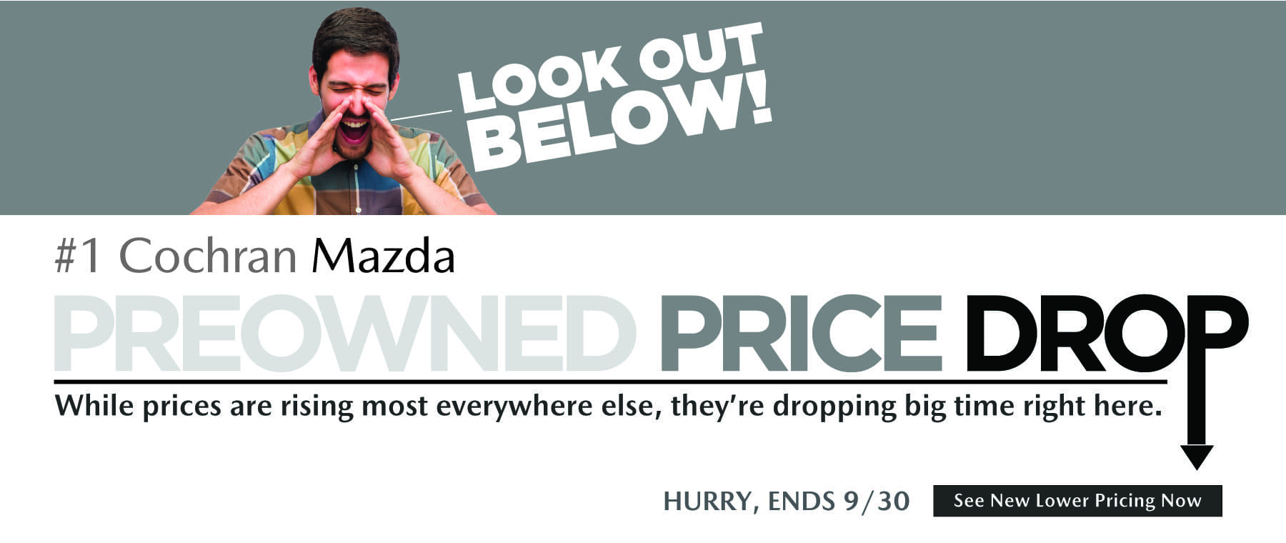 Sep 2021 Preowned Price Drop CS Slide_MAZDA