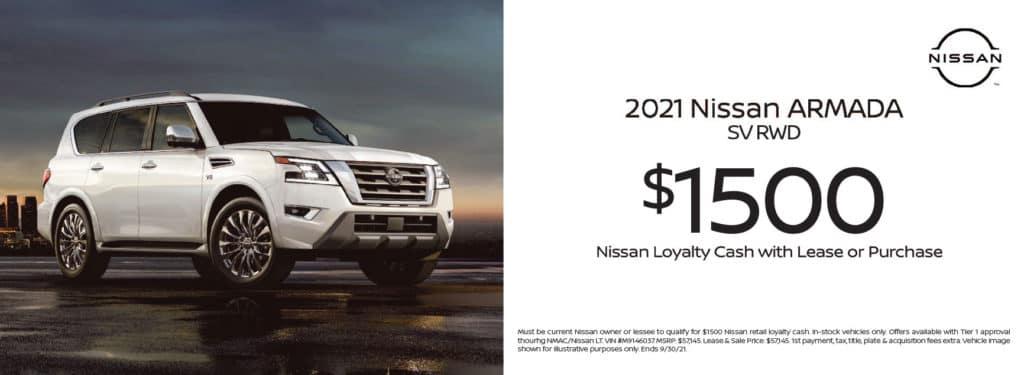New 2021 Nissan Armada