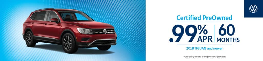 Certified PreOwned Tiguan Deal