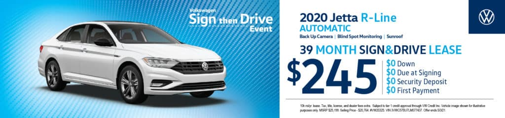 New Volkswagen 2020 Jetta R-Line Automatic