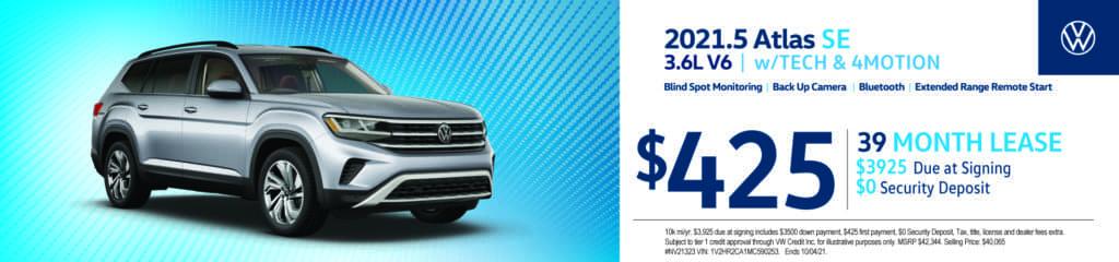New 2021.5 Volkswagen Atlas