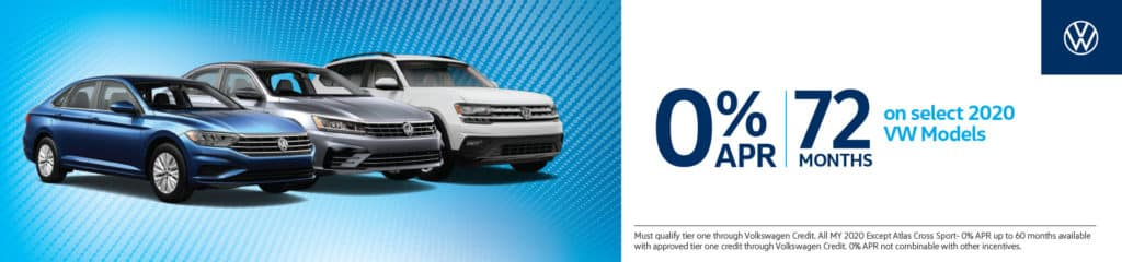 0% APR | 72 Months on Select 2020 Models
