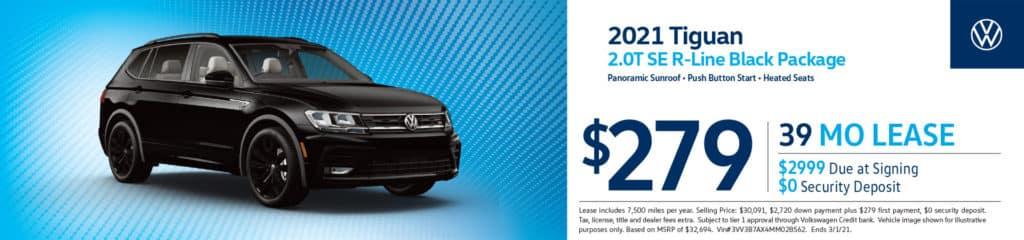 New 2021 Volkswagen Tiguan