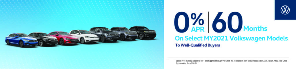 0% APR for 60 Months on Select Models