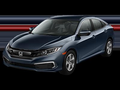 New 2019 Honda Civic LX Sedan Automatic