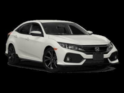 New 2019 Honda Civic Hatchback LX Automatic