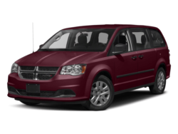 2017 Red Dodge Grand Caravan