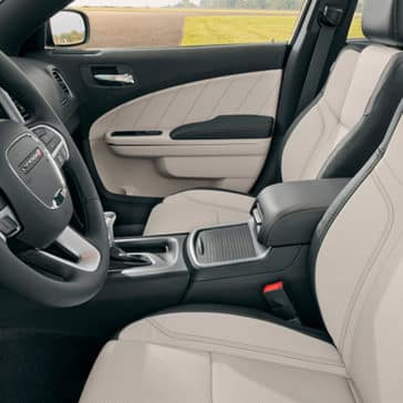 2018 Dodge Charger Cabin
