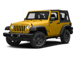 2018 Jeep Wrangler JK Yellow