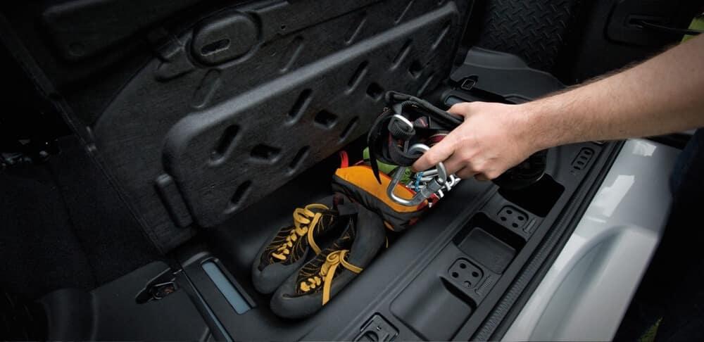2018 Jeep Wrangler JK Storage