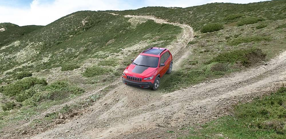 2019 Jeep Cherokee Downhill