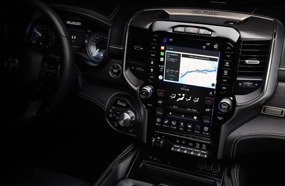 2019 Ram 1500 Touchscreen