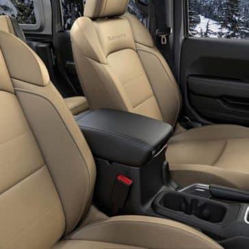 2018 Jeep Wrangler Seats