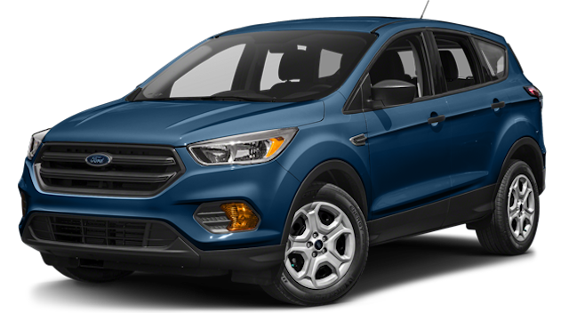 Blue 2018 Ford Escape