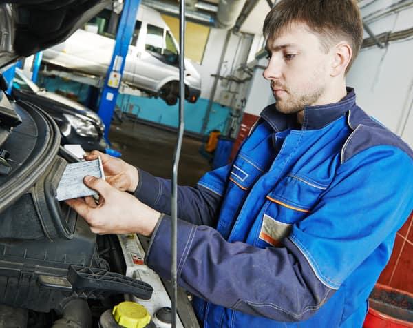 car maintenance, air filter replacing