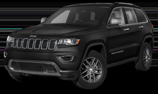 2020 black Jeep Grand Cherokee