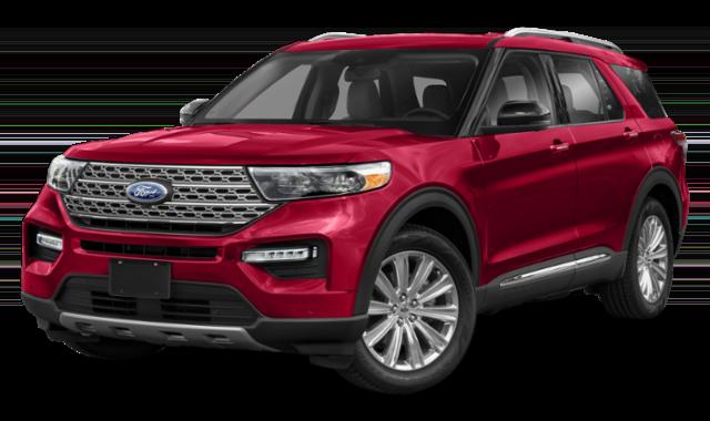 2020 red ford explorer