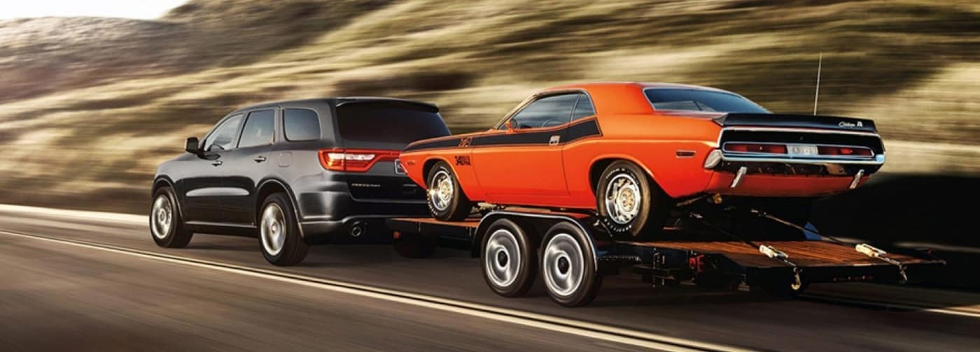 2020 dodge durango towing car