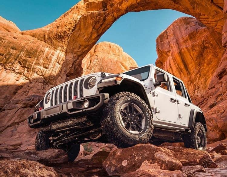 2020 White Jeep