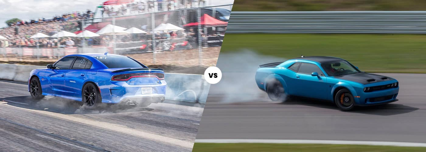 2020 charger vs challenger