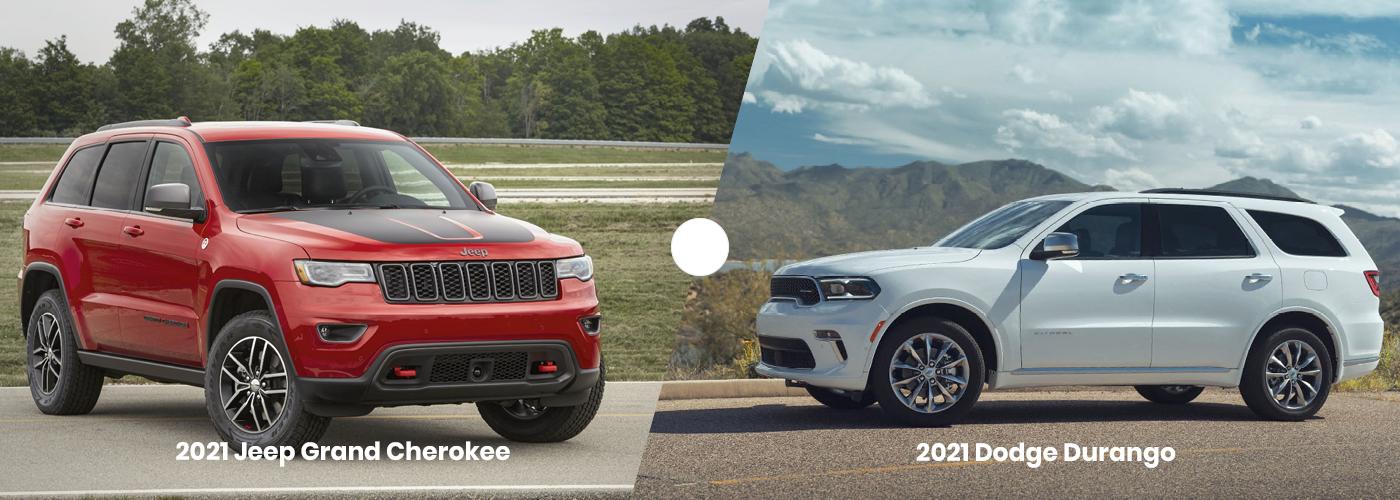 2021 Jeep Grand Cherokee vs Dodge Durango