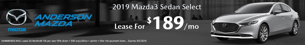 Mazda3 Sedan Lease offer in Lincoln, NE