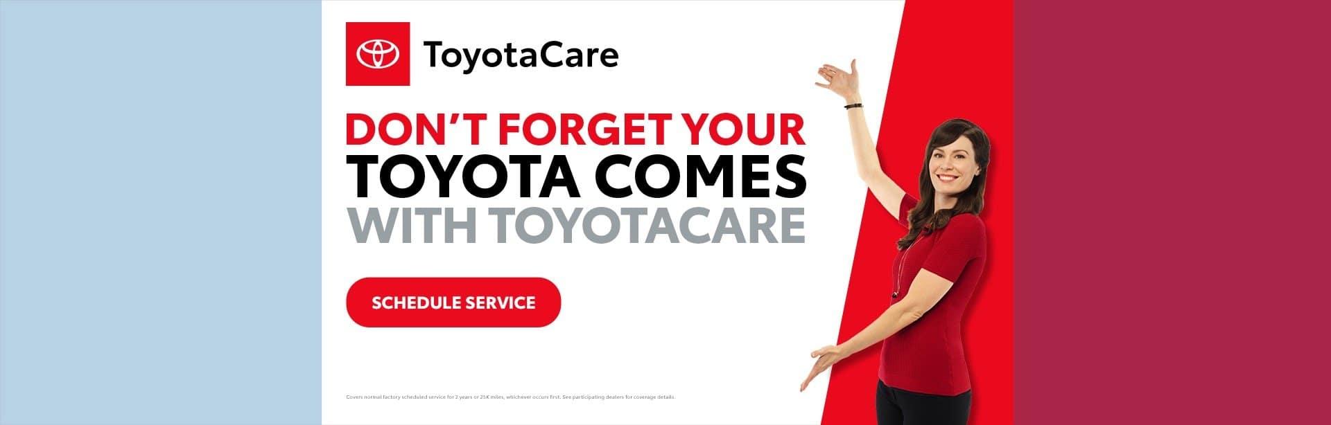 Toyota, ToyotaCare