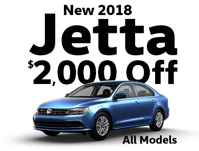 $2000 Off New 2018 Jetta