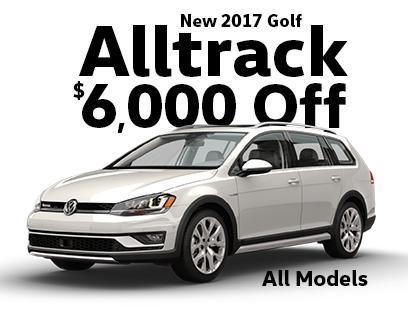 $6000 off 2017 Golf Models