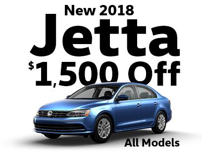 $1500 Off New 2018 Jetta