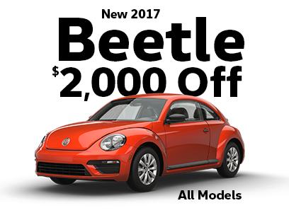 $2000 Off New 2017 Beetle