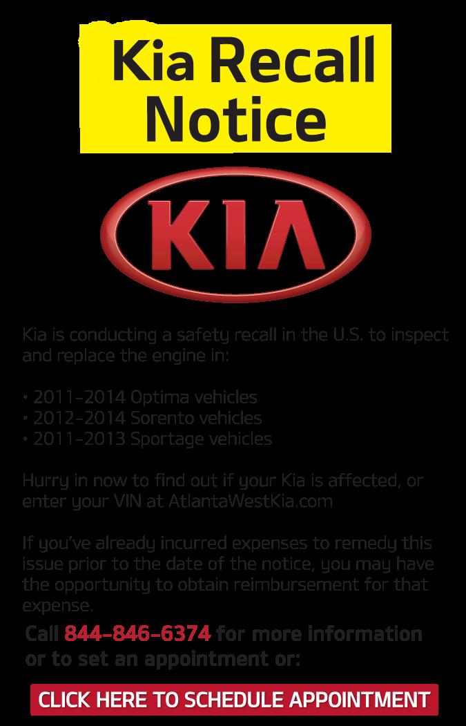 2013 Kia Soul Recalls >> Kia Safety Recall Information