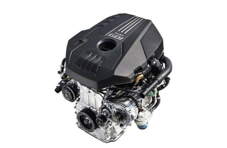 Twin Scroll Turbocharged 2.0L 4-Cylinder Engine