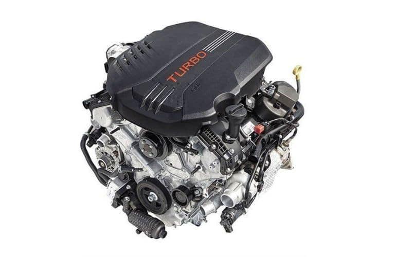 Twin Turbocharged 3.3L V6 Engine