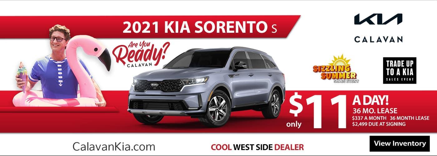 New 2021 Kia Sorento - June
